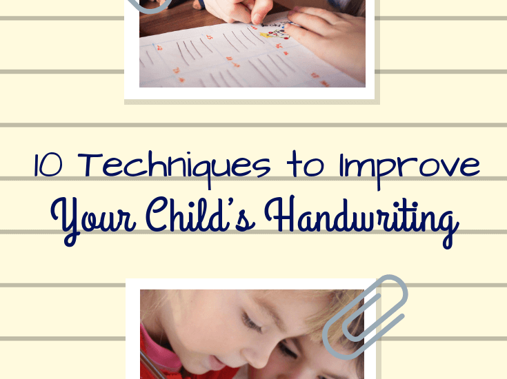 Top 10 Tips to Help Your Child Improve Their Handwriting